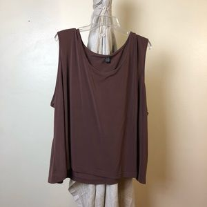 Tops - 🔴 Must go! 4X Soft Brown Sleeveless Blouse